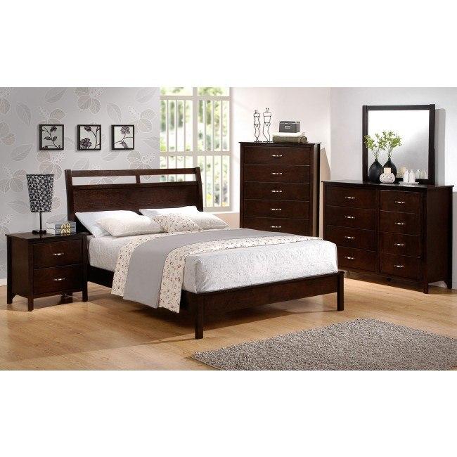 Ian Low Profile Bedroom Set