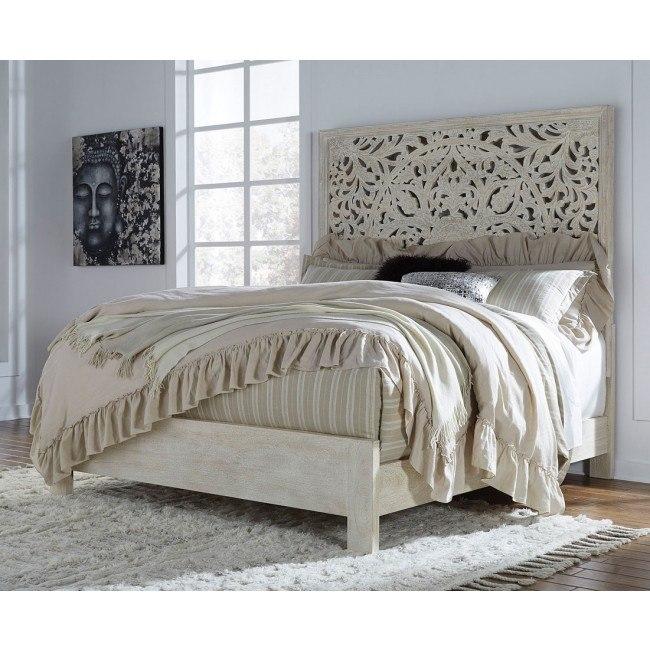 Bantori Panel Bed