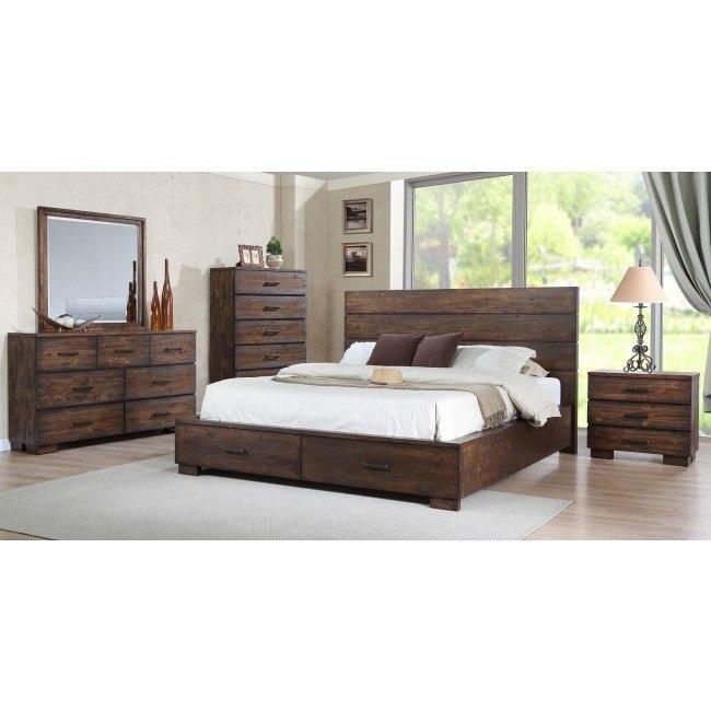 Cranston Storage Bedroom Set