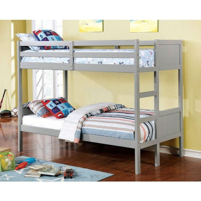 Annette Bunk Bed (Gray)