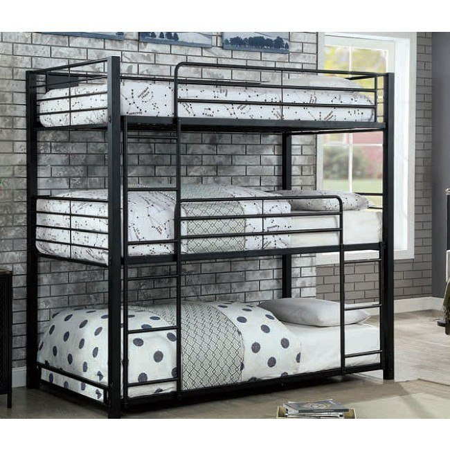 Carolyn Triple Twin Bunk Bed