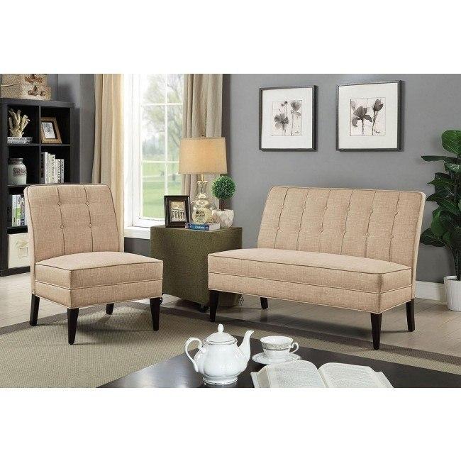 Remarkable Deandra Living Room Set Beige Machost Co Dining Chair Design Ideas Machostcouk