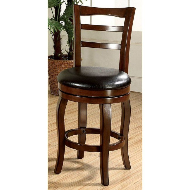 Southland 24 Inch Swivel Bar Stool Oak By Furniture Of America