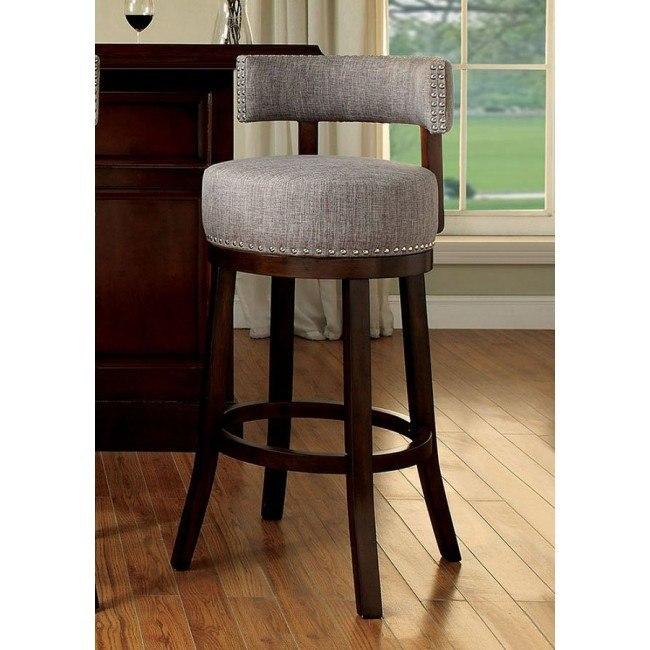 Amazing Lynsey 30 Inch Swivel Bar Stool Light Gray Set Of 2 Inzonedesignstudio Interior Chair Design Inzonedesignstudiocom