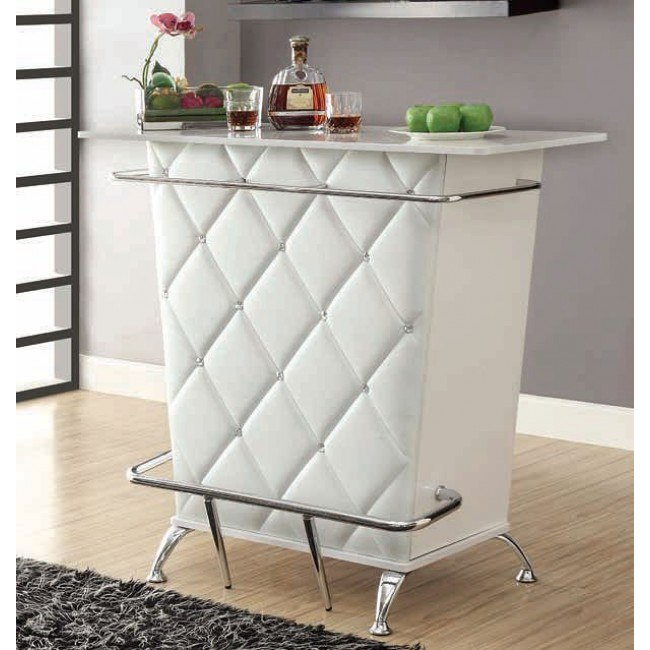 Fuero White Bar Table