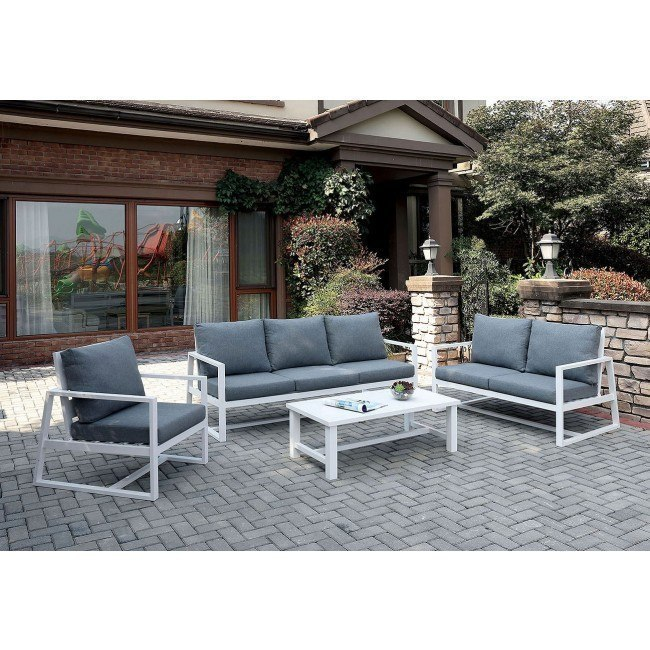 India Outdoor Seating Set Gray