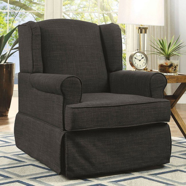 Phenomenal Marlena Swivel Glider And Rocker Chair Dark Gray Caraccident5 Cool Chair Designs And Ideas Caraccident5Info