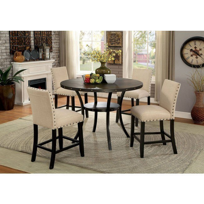 Kaitlin Counter Height Dining Room Set