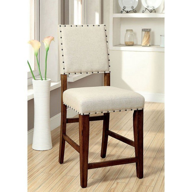 Sania II Counter Height Chair (Natural Tone) (Set of 2)