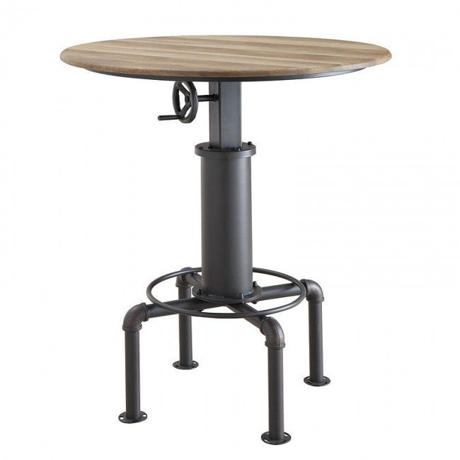 Fran Adjustable Bar Table