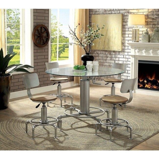 Helene Adjustable Dining Room Set