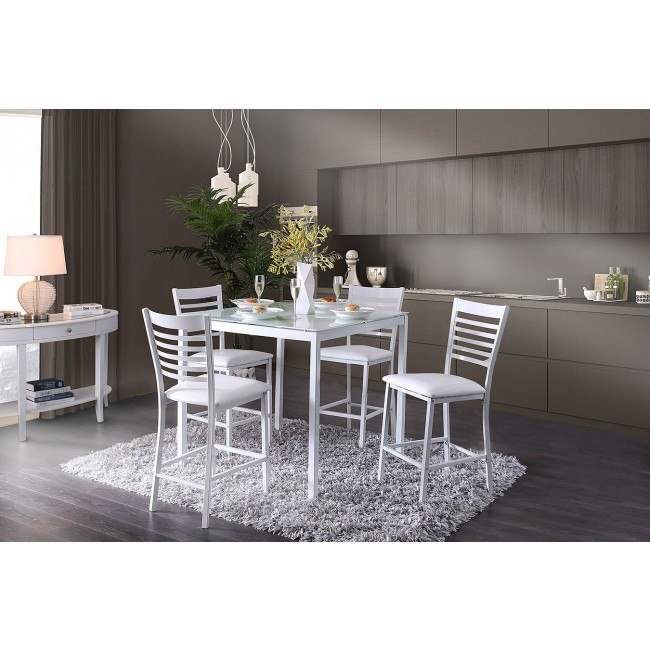 Arwen Counter Height Dining Room Set (White)