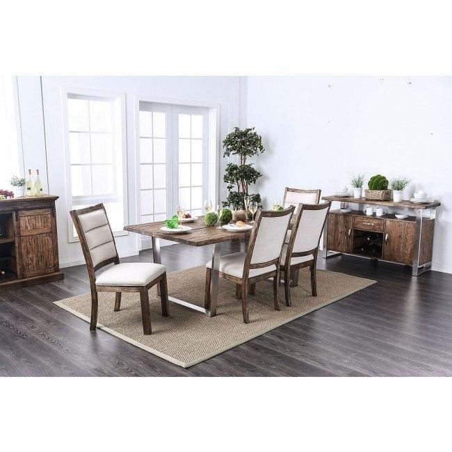 Mandy Dining Room Set (Oak)