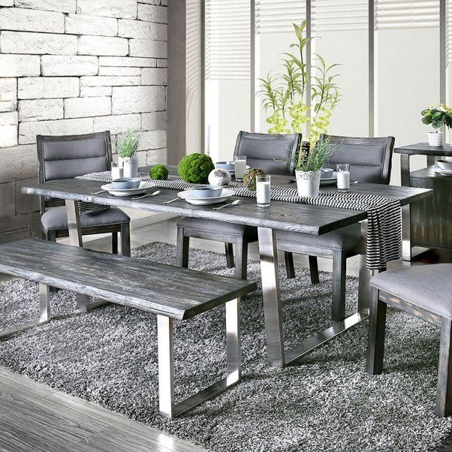 Mandy Dining Table (Gray)