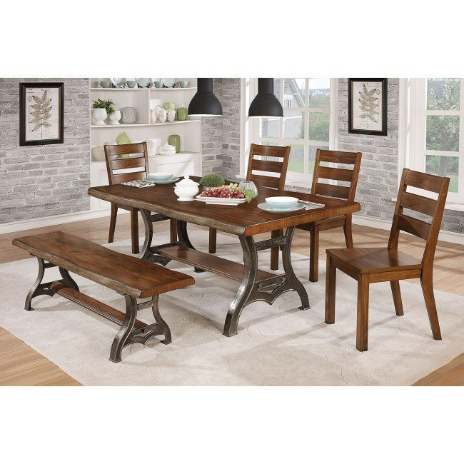 Leann Dining Room Set w/ Bench