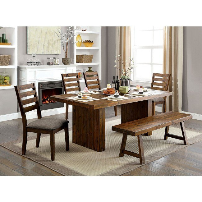 Kirsty Dining Room Set w/ Bench