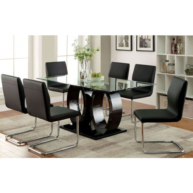 Lodia I Black Dining Room Set