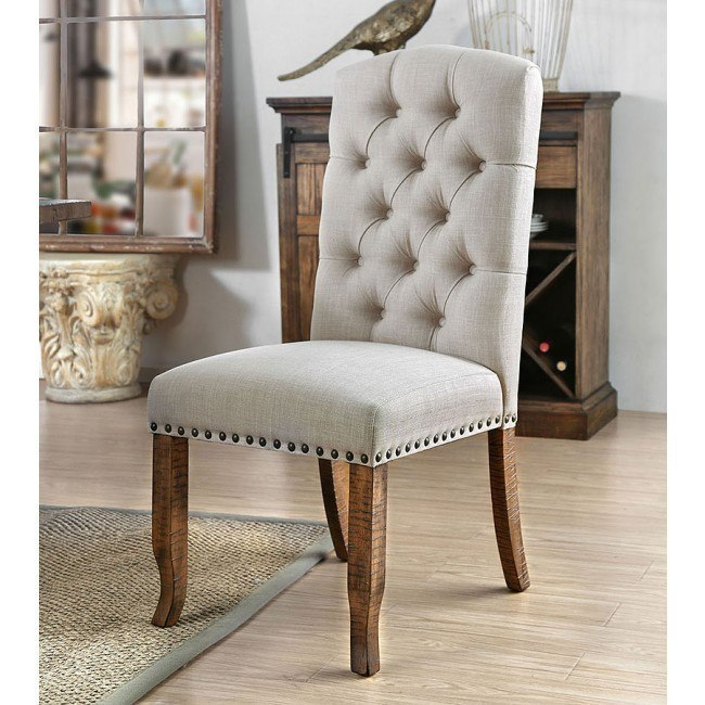 Gianna Ivory Side Chair (Set of 2)