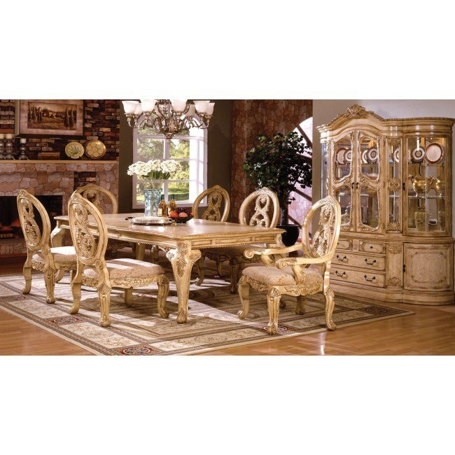 Tuscany II Dining Room Set (Antique White) By Furniture Of