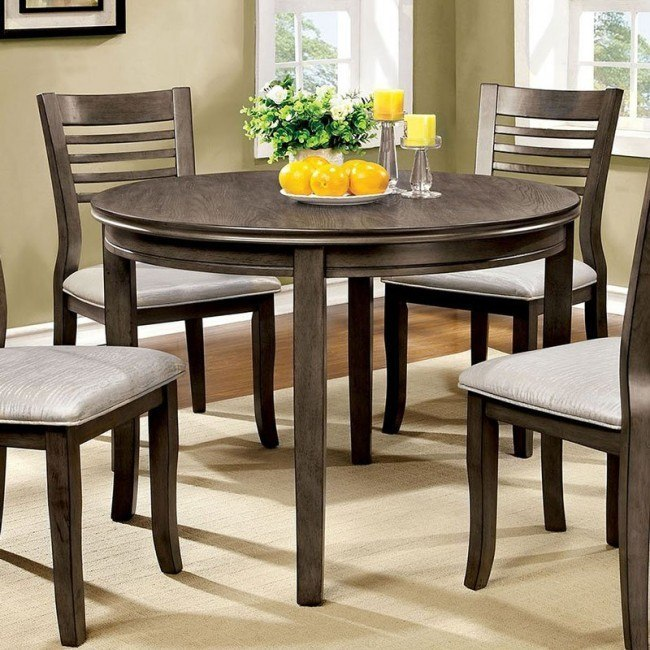 Dwight Iii 48 Inch Round Dining Table By Furniture Of America