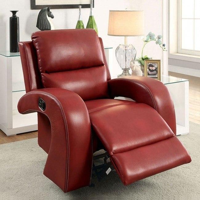 Super Odette Reclining Chair Red Uwap Interior Chair Design Uwaporg