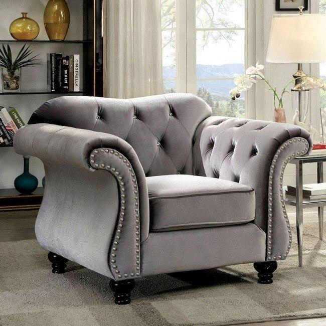 Jolanda Chair (Gray)