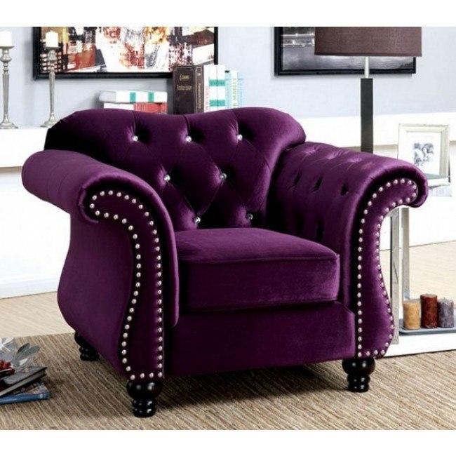Amazing Jolanda Chair Plum Ncnpc Chair Design For Home Ncnpcorg
