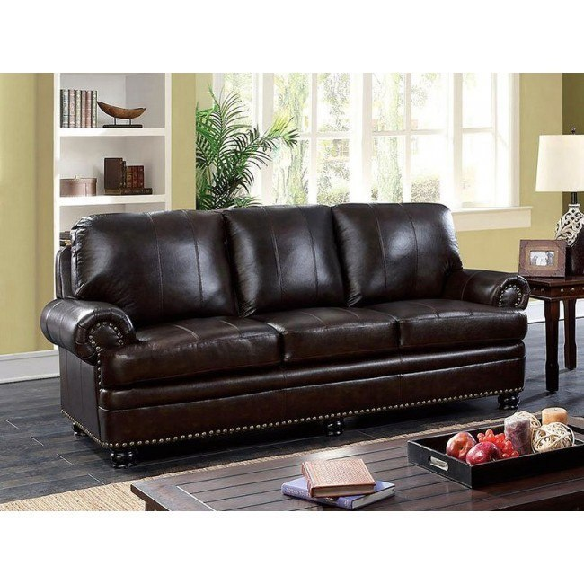 Reinhardt Sofa (Dark Brown)