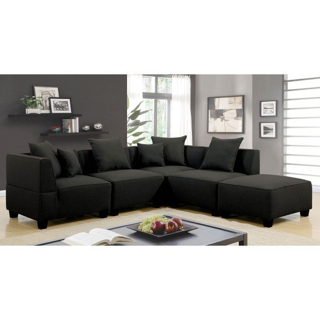 Marian Sectional w/ 5 Seats