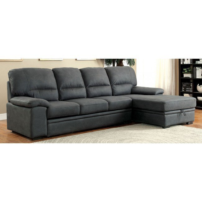 Alcester Sleeper Sectional (Graphite)