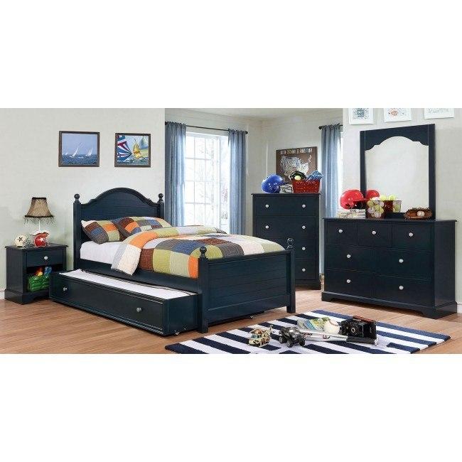 Diane Youth Bedroom Set (Blue)
