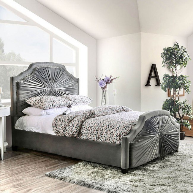 Coraline Upholstered Bed
