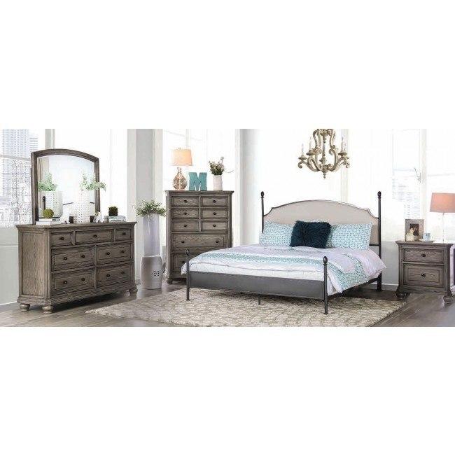 Sinead Metal Bedroom Set