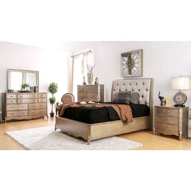 Celine Upholstered Bedroom Set