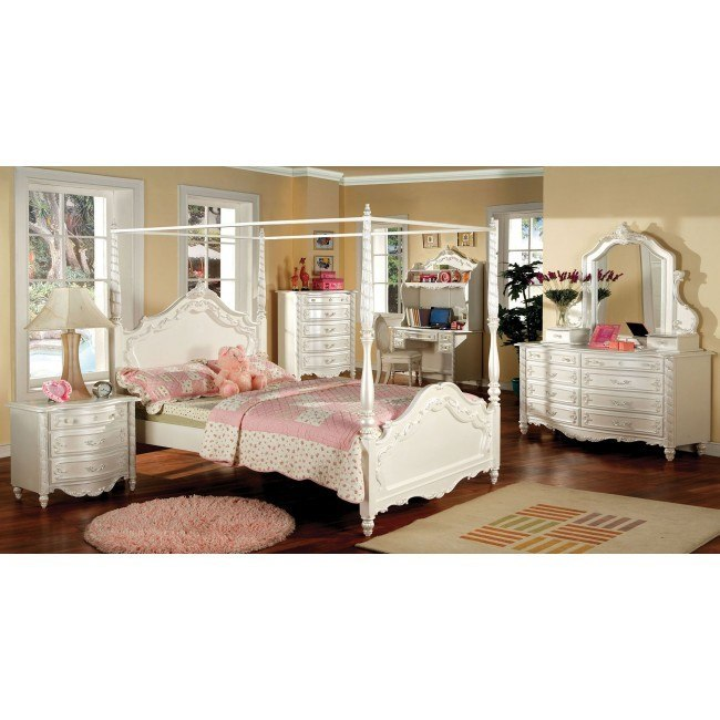 Victoria Youth Canopy Bedroom Set