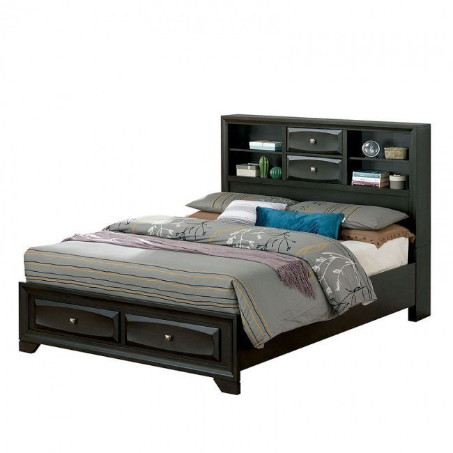 Carlynn Bookcase Bed