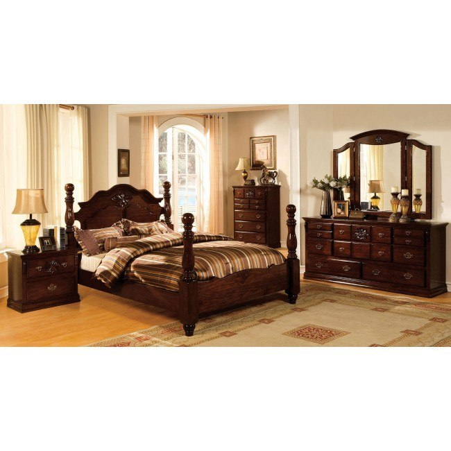 Tuscany Bedroom Furniture: Tuscan II Poster Bedroom Set By Furniture Of America