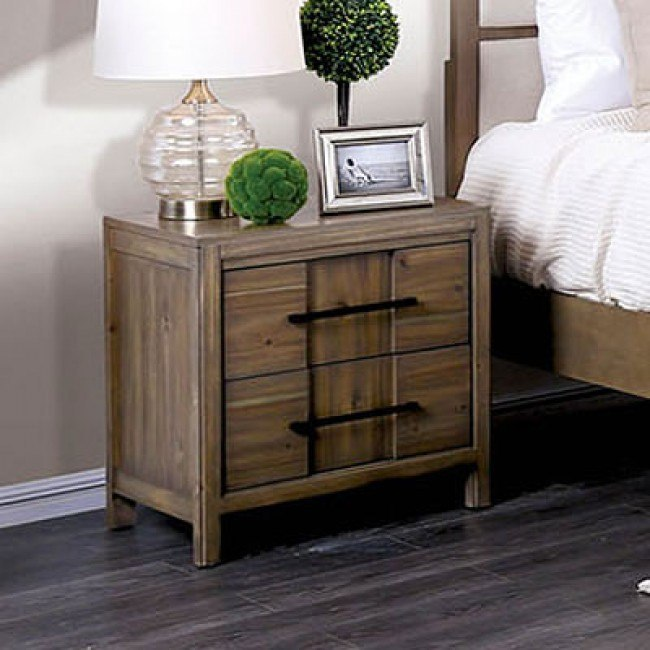 timeless design 77895 bad34 Berenice Nightstand (Light Oak)