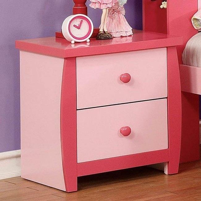 Marlee Nightstand (Pink)