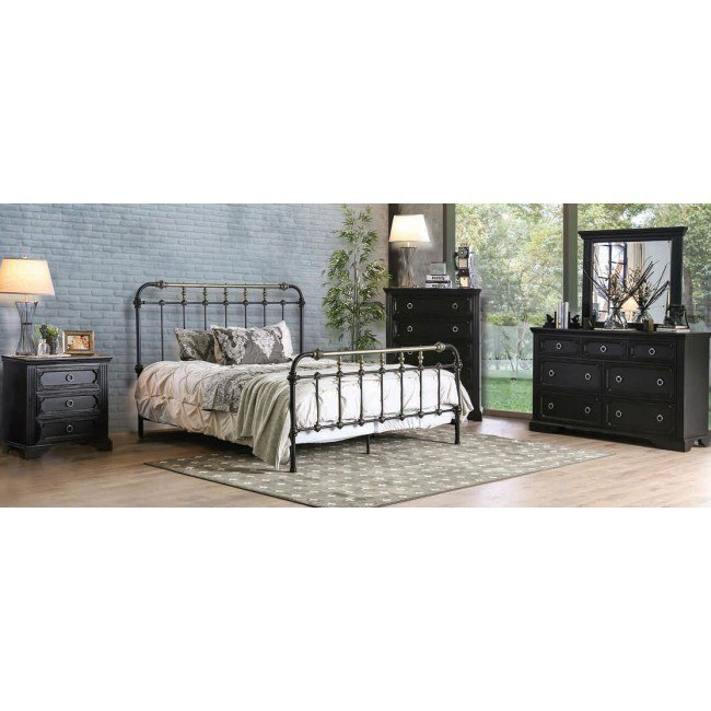 Riana Youth Metal Bedroom Set
