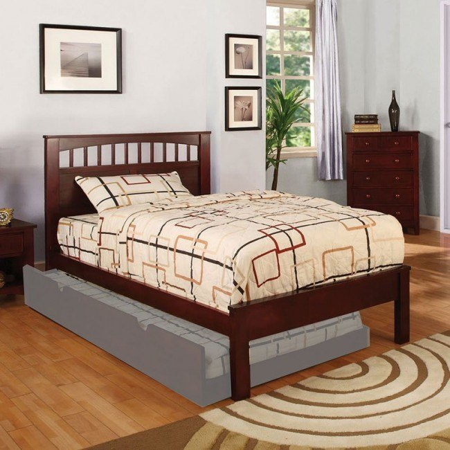 Carus Youth Platform Bed (Cherry)