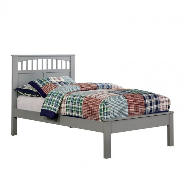 Carus Youth Platform Bed (Gray)