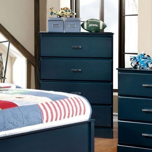 Prismo Youth Chest (Blue)