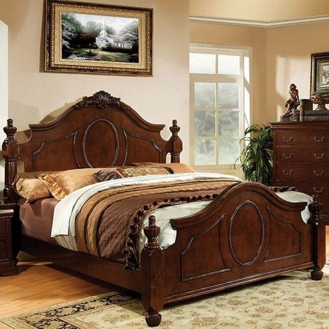 Velda II Low Post Bed