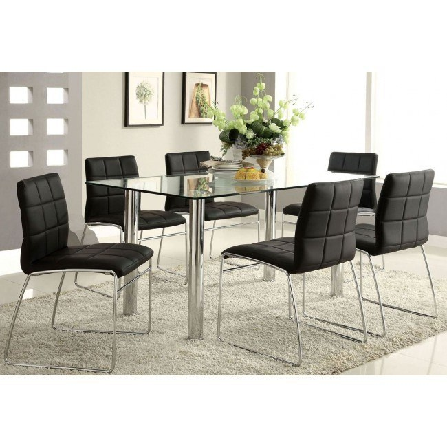 Oahu Dining Room Set W/ Chair Choices By Furniture Of