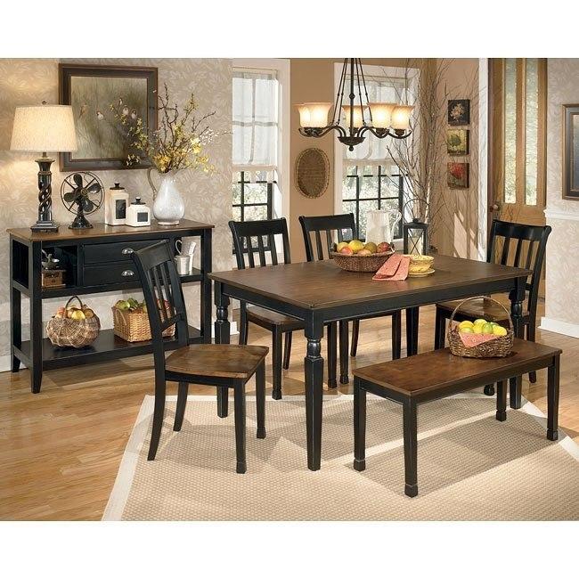Owingsville Dining Room Set w/ Bench