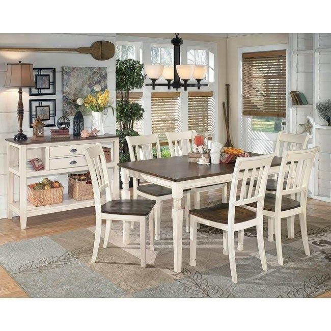 Whitesburg Rectangular Dining Room Set