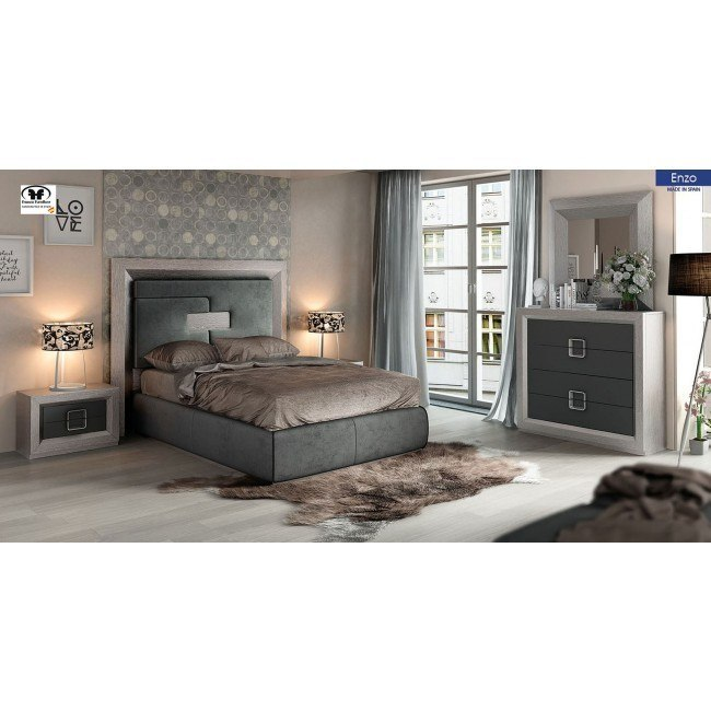 Enzo Platform Bedroom Set
