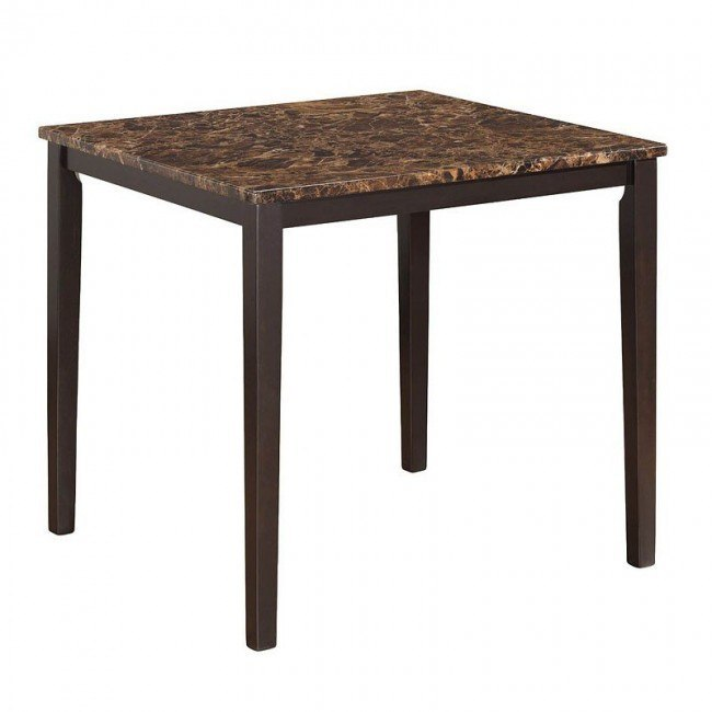 G0042 Counter Height Table (Faux Marble Top)