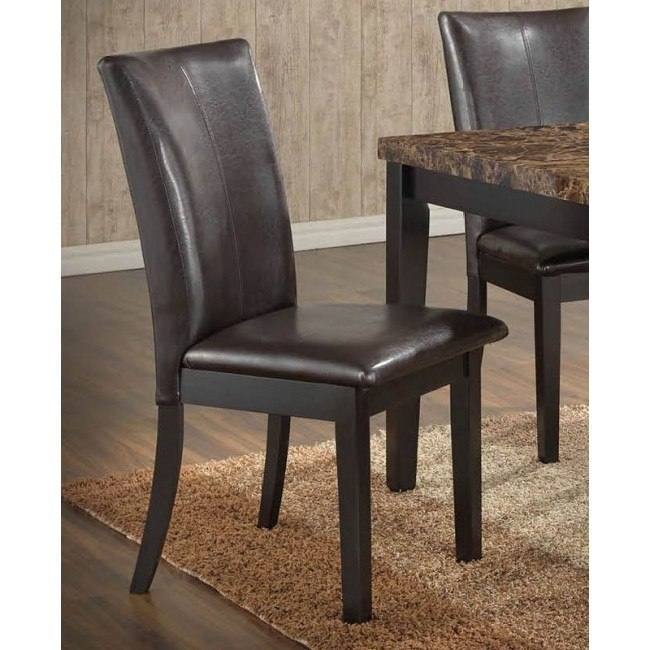 G0071 Side Chair (Brown) (Set of 2)
